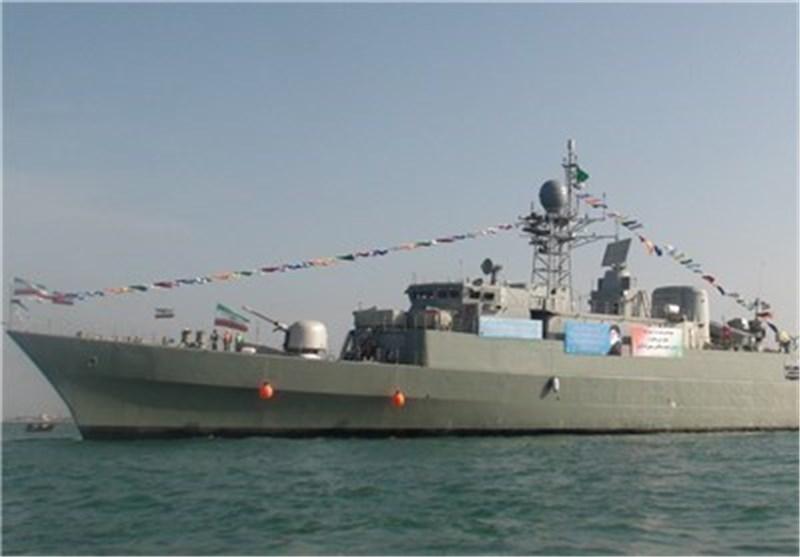 Damavand Destroyer to Join Iran Naval Fleet Monday