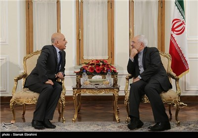Ambassador of Algeria and Iran's Foreign Minister