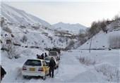 مسدود شدن راه های مواصلاتی در افغانستان 1
