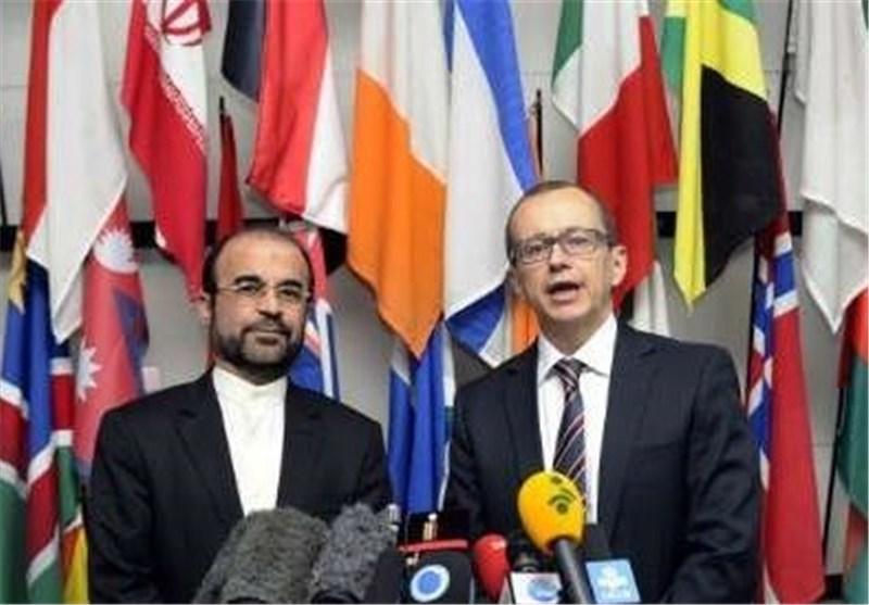 بدء المحادثات النوویة بین ایران الاسلامیة والوکالة الدولیة