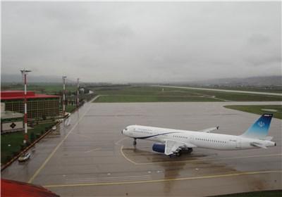سه پرواز فرودگاه استان کرمانشاه لغو شد