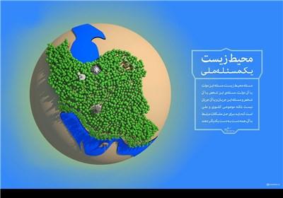 طرح/ محیط زیست، یک مسئله ملی