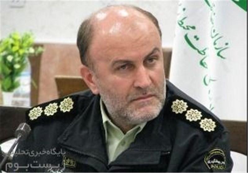 فرمانده یگان حفاظت سازمان محیط زیست فرمانده نمونه ناجا شد