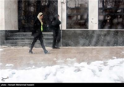 Snow Blankets Tehran's Suburb City of Damavand