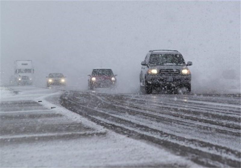فیلم/ برف و سرما در نیوزیلند