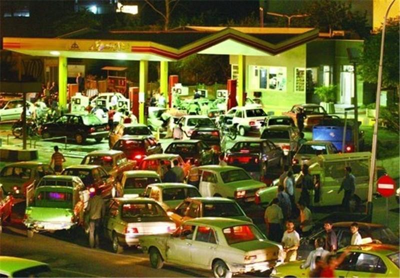 357 هزار لیتر بنزین به جایگاههای استان کرمانشاه ارسال شد