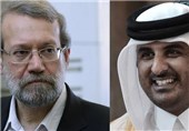 Iranian Speaker, Qatari Emir Confer on Bilateral Ties