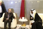 Larijani Urges Closer Parliamentary Ties between Iran, Qatar