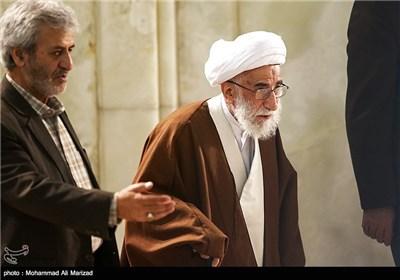 آیت الله جنتی دبیر شورای نگهبان در نماز جمعه تهران