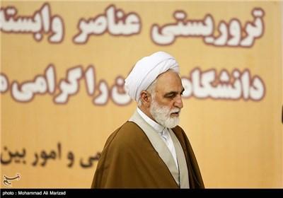حجت الاسلام محسنی اژه ای معاون اول قوه قضاییه در نماز جمعه تهران