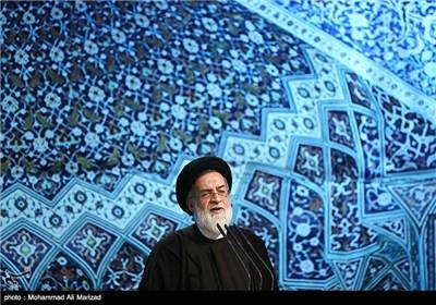 سخنرانی حجت الاسلام شهیدی محلاتی رئیس بنیاد شهید نماز جمعه تهران