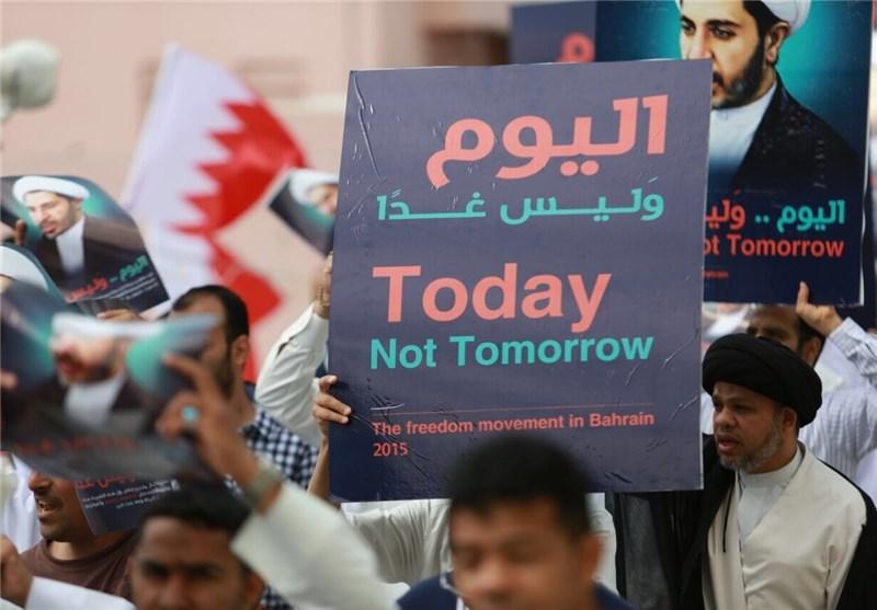 تظاهرات مردم بحرین برای آزادی زندانیان سیاسی + تصاویر