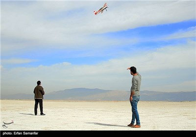 Air Show of Remote-Controlled Airplanes in Iran's Shiraz