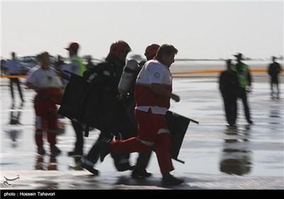 Rescue, Relief Exercises on Iran's Kish Island