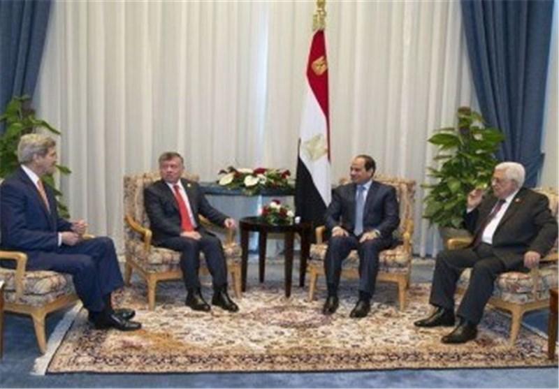 نشست 4جانبه آمریکا، اردن، فلسطین و مصر در شرم الشیخ