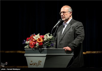 سخنرانی محسن انصاری قائم مقام بنیاد شهید در همایش تجلیل از جهادگران عرصه فرهنگ ، هنر و رسانه