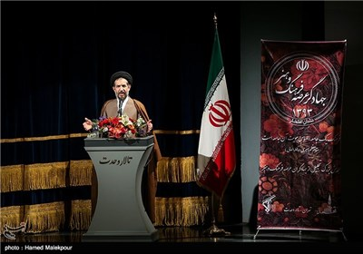 سخنرانی حجتالاسلام محمدحسن ابوترابی فرد نایب رئیس مجلس در همایش تجلیل از جهادگران عرصه فرهنگ ، هنر و رسانه