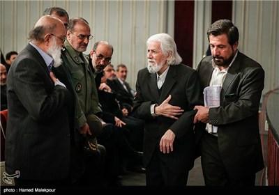 حمید سبزواری در همایش تجلیل از جهادگران عرصه فرهنگ ، هنر و رسانه