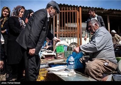Local Bazaar in Iran's Northern City of Juybar