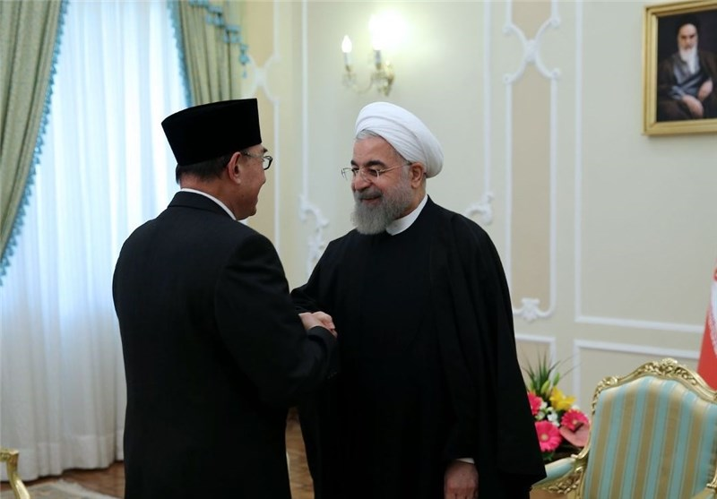 Iran, Indonesia Can Promote Moderate Islam: President Rouhani