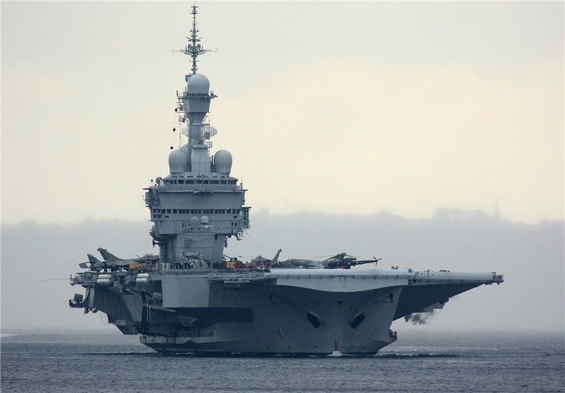 French Aircraft Carrier Charles De Gaulle Launches First Anti Isis Missions In Syria Iraq