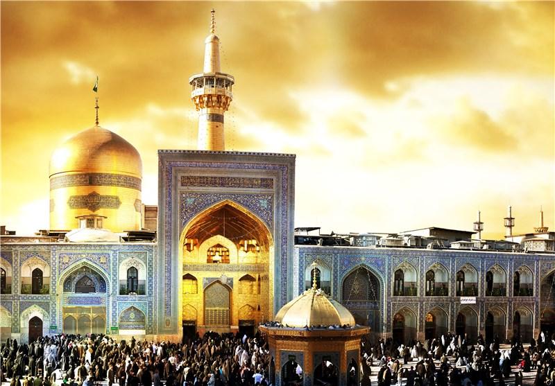 عکس حرم مشهد مقدس