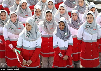 Iranian Police, Red Crescent Preparing for Nowruz