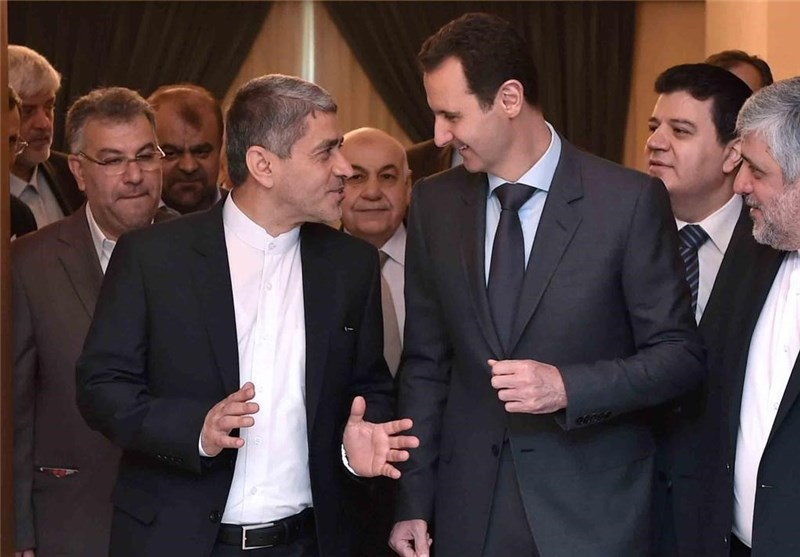Assad Lauds Iran's Backing for Syria's Resistance