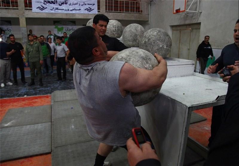 مسابقات قویترین مردان کشور در قم به پایان رسید