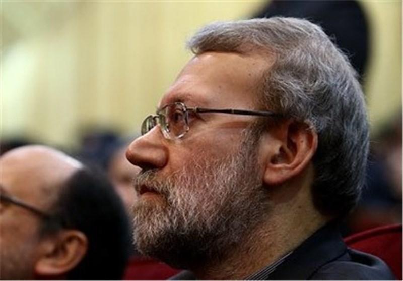 رئیس مجلس درگذشت همسر آیت الله خاتمی را تسلیت گفت