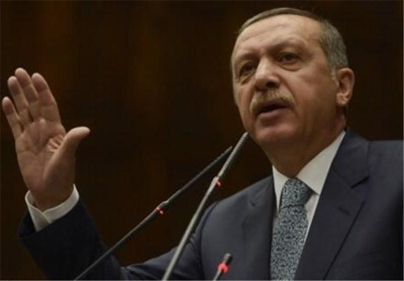 اردوغان اقدام ارتش ترکیه در ساقط کردن جنگنده سوری را توجیه کرد