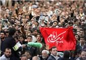 مراسم ویژه سخنرانی نوروزی امام خامنهای در حرم ثامنالحجج(ع) آغاز شد