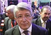 انریکو سرزو رئیس باشگاه اتلتیکومادرید
