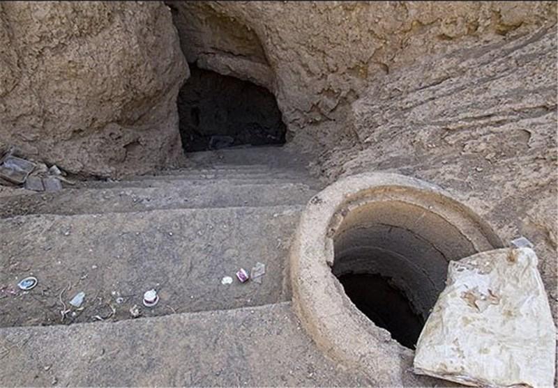 قدمت 2500 ساله قنات قصبه گناباد+ تصاویر