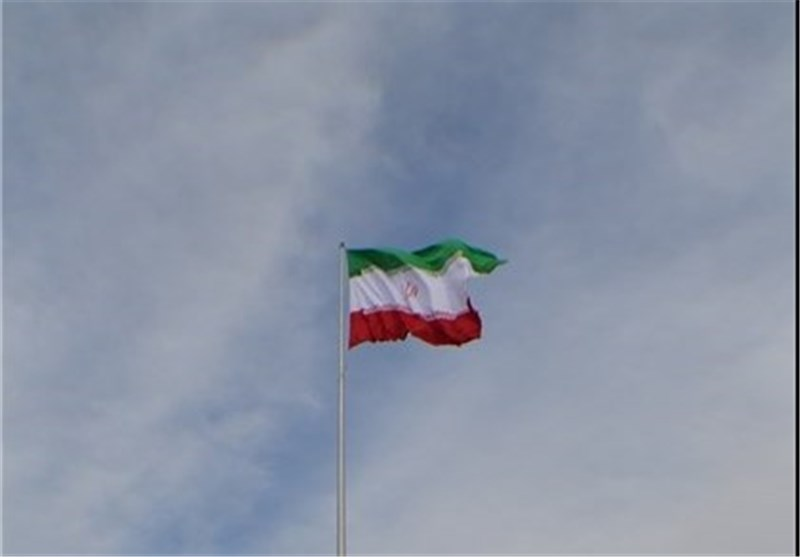 Iran's Flag Hoisted Up at Asian Para Games