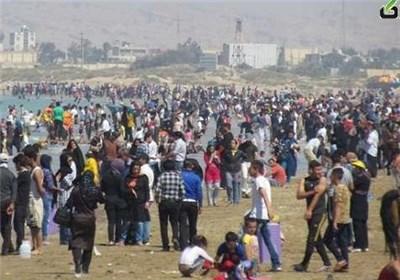 گردشگران نوروزی بوشهر