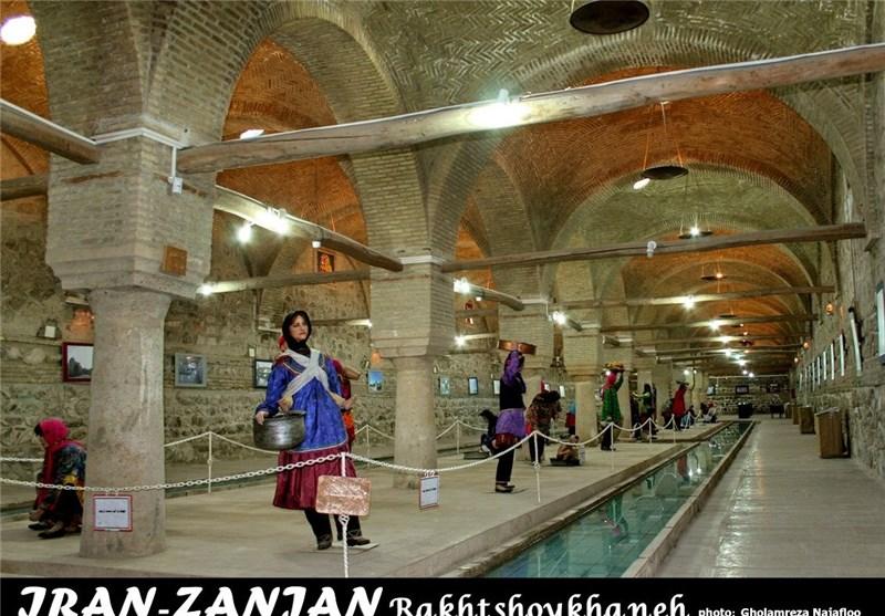 بنای رختشویخانه زنجان، بنایی با کارکرد بینظیر + تصاویر