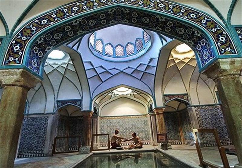 موزه حمام گنجعلیخان کرمان نگین حمامهای تاریخی ایران + تصویر