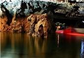 غار علیصدر دریاچهای شگفتانگیز در دل کوه+ تصاویر