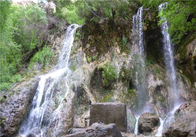 Akhlamad: One of the Waterfalls in Khorasan Razavi Northeast of Iran