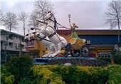 """""""فومن"""" شهری با مجسمههای رنگارنگ نشسته در دل تاریخ+تصاویر"""