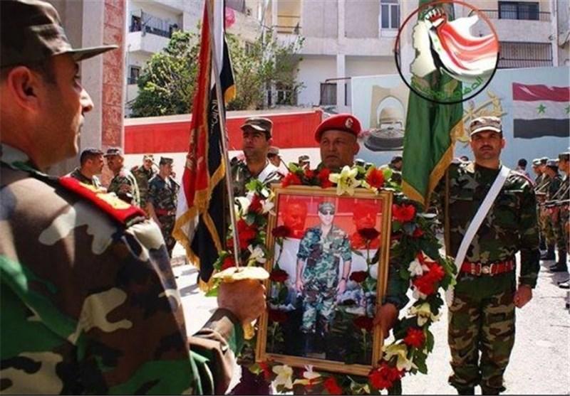 تشییع قائد قوات الدفاع الوطنی فی اللاذقیة إلى مثواه الأخیر