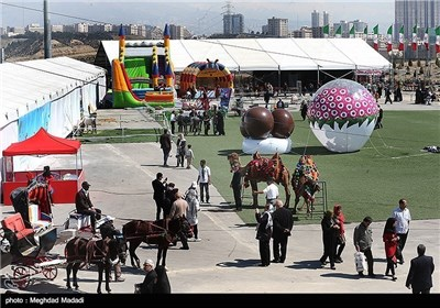 مهرجان نوروز فی برج میلاد بطهران