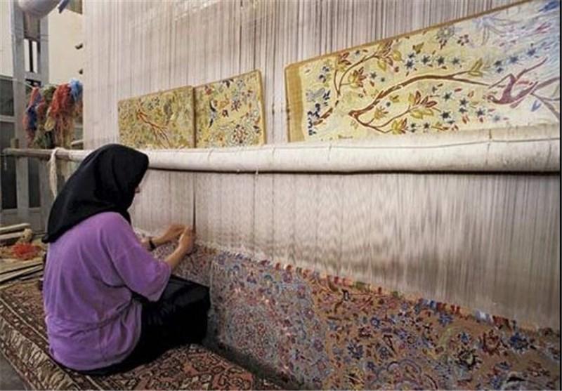 نتیجه تصویری برای  قالی بافی