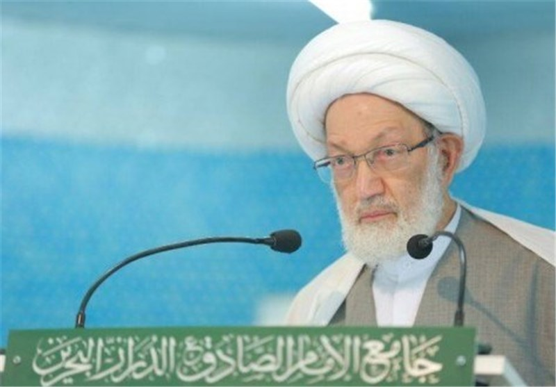 الزعيم الديني في البحرين آية الله الشيخ عيسى قاسم