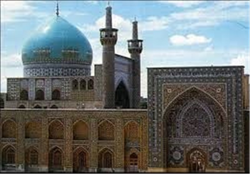مسجد گوهرشاد، یادگاری تاریخی در حرم مطهر رضوی + تصاویر- اخبار ...