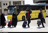 حمل و نقل مسافران نوروزی در استان کرمانشاه 156 درصد افزایش یافت