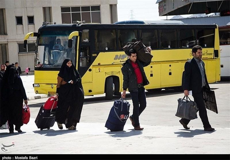 ترمینال مسافربری مشهد در ایام نوروز