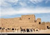 بازدید مسافران نوروزی از نارین قلعه میبد - یزد