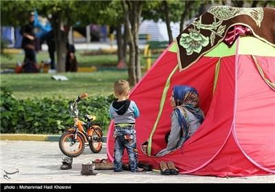 المسافرون خلال عطلة عید نوروز فی ایران